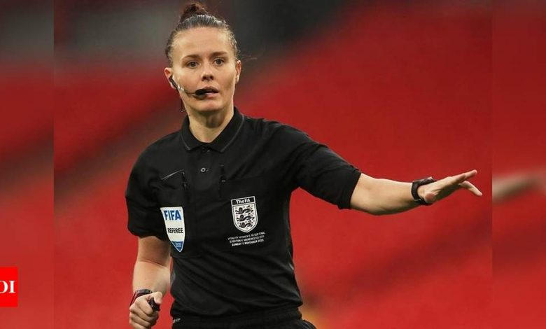 Rebecca Welch becomes first female referee appointed to EFL match | Football News - Times of India