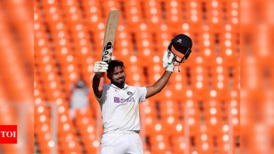 Rishabh Pant's hundred was the best counter-attacking innings I have seen at number six on Indian soil: Ravi Shastri | Cricket News - Times of India