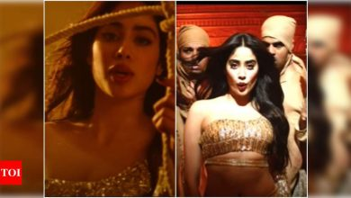 'Roohi' new song 'Nadiyon Paar': Janhvi Kapoor impresses with her amazing dance moves in this latest track - Times of India