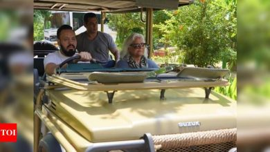 Salman Khan enjoys a jungle safari ride  in Rajasthan; check it out - Times of India