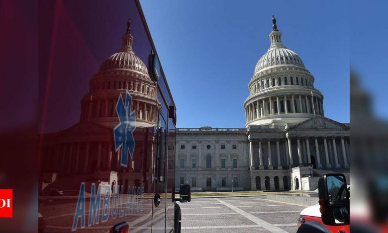 Senate Dems strike jobless aid deal, relief bill OK in sight - Times of India