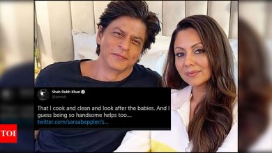Shah Rukh Khan reveals what his wife Gauri loves about him - Times of India