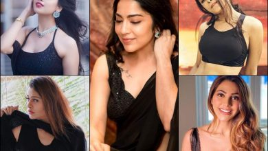 Shalini Pandey to Nikki Tamboli, Tollywood bombshells flaunt their beauty in black  | The Times of India