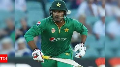 Sharjeel Khan:  Sharjeel Khan's inclusion in Pakistan playing XI depends on his fitness | Cricket News - Times of India