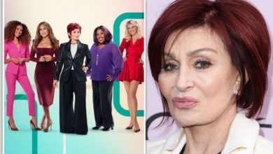 Sharon Osbourne hits back at racist allegations and denies calling co-host offensive slurs
