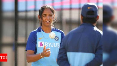 Shikha Pandey's omission a tough call but she is not dropped: Harmanpreet Kaur | Cricket News - Times of India