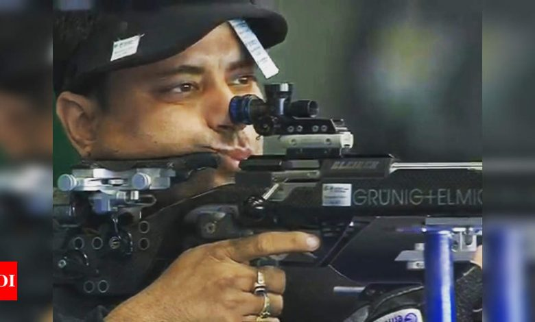 Shooting World Cup: Indian men win gold in 50m rifle 3 positions team event | More sports News - Times of India