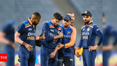 Shreyas Iyer out of England ODIs, likely to miss IPL first half too | Cricket News - Times of India