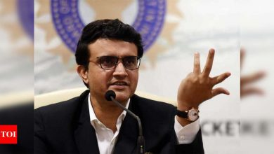 Sourav Ganguly wants Bengal players to focus on fitness | Cricket News - Times of India