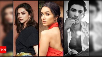 Statements of Deepika Padukone, Shraddha Kapoor part of NCB charge sheet in Sushant Singh Rajput case - Times of India