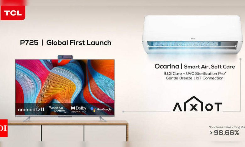 TCL launches first Android 11 smart TV and smart AC range in India - Times of India