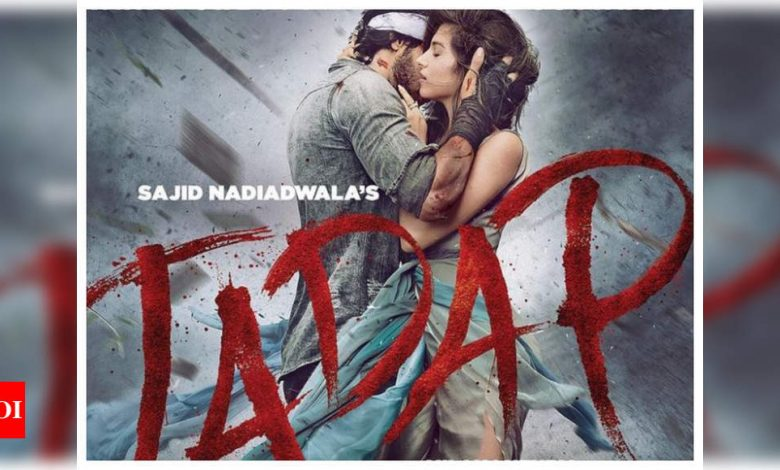 'Tadap': Ahan Shetty and Tara Sutaria share first poster of their 'incredible love story'; announce film's release date - Times of India