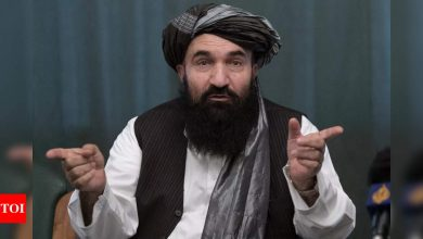 Taliban vow to restore Islamic rule in Afghanistan - Times of India