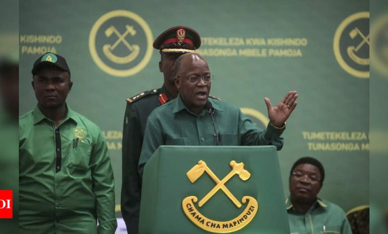 Tanzanian police say 45 died in stampede at John Magufuli tribute - Times of India