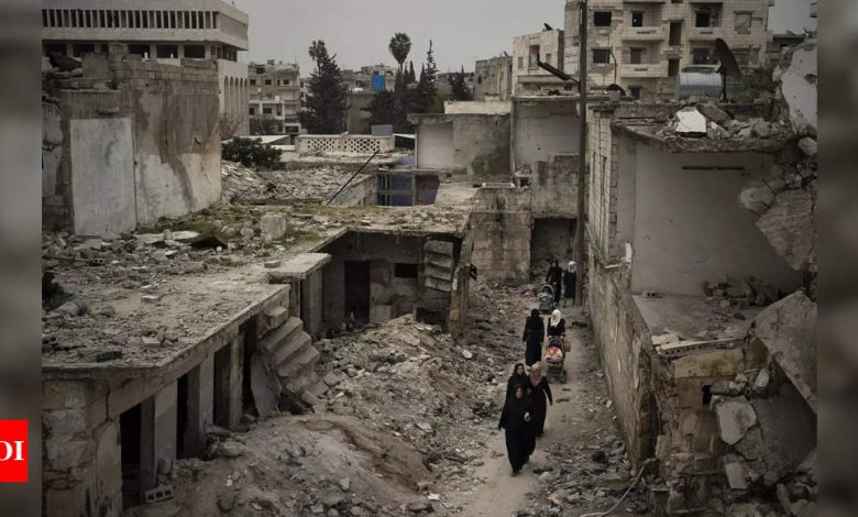 Timeline: Ten years of war in Syria - Times of India