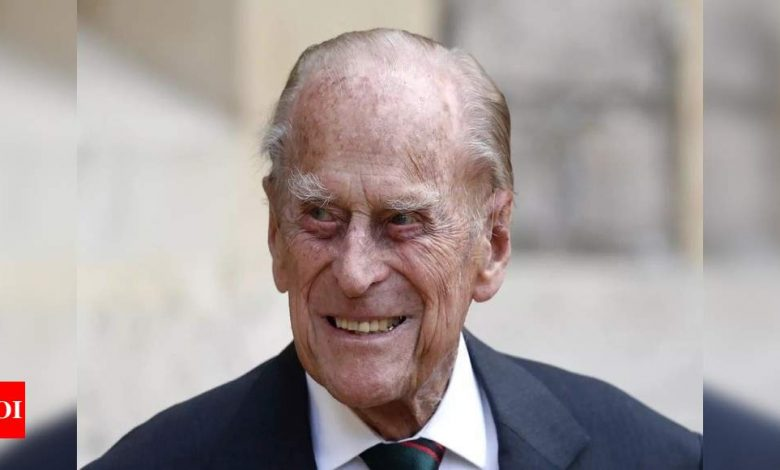 UK's Prince Philip moved to new hospital to treat infection, pre-existing heart condition - Times of India