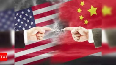 US designates five Chinese companies as security threats - Times of India