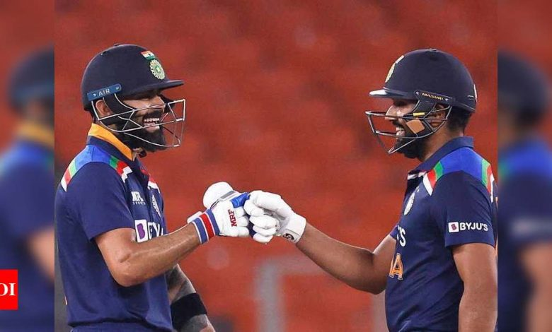 Virat Kohli looks to open with Rohit Sharma through to World Cup, will open in IPL also | Cricket News - Times of India