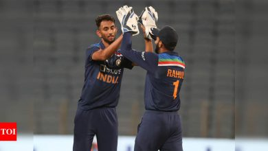 Was confident that next player from Karnataka would be Prasidh: KL Rahul | Cricket News - Times of India