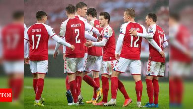 World Cup qualifiers: Record-breaking Denmark thrash Moldova 8-0 | Football News - Times of India