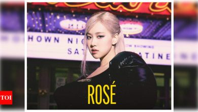 World Premiere: BLACKPINK's Rosé debuts solo English track 'On The Ground', her most personal track yet - Times of India