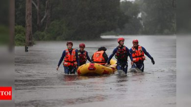 Worst floods in 60 years: Thousands ordered to evacuate Sydney - Times of India
