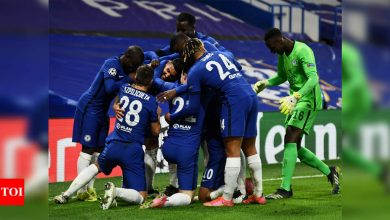 champions league:  Chelsea march into Champions League quarters with win over Atletico Madrid | Football News - Times of India