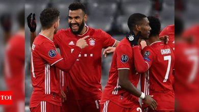 champions league:  Ruthless Bayern Munich complete job against Lazio to ease into Champions League last-eight | Football News - Times of India