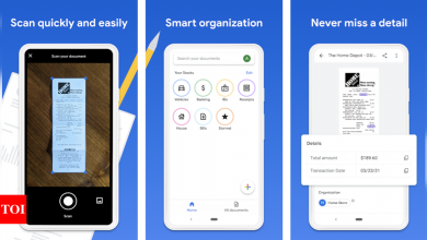 google stack:  Google launches app to help you store important documents - Times of India