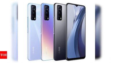 iQoo Z3 smartphone with 55W fast charging support launched in China - Times of India
