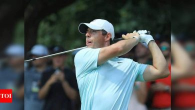 rory mcilroy:  Reigning champion Rory McIlroy set to miss cut at Players Championship   Golf News - Times of India
