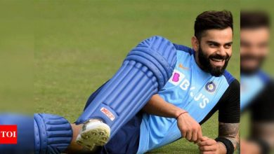 virat kohli:  EXCLUSIVE: A captain knows his days are numbered but at the moment Virat Kohli has a pretty firm handle on the dressing room, feels David Gower | Cricket News - Times of India
