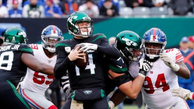Jets' Sam Darnold tweet dunking on Giants ages horribly