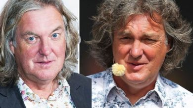 James May suffers 'duff audio' before issuing apology 'We think he spilled tea on mic'