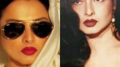 Captivating beauty looks of Rekha from her younger days