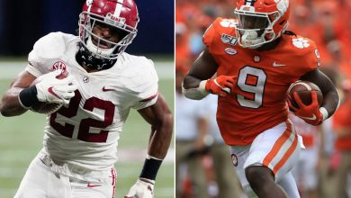 The top 10 running backs heading into 2021 NFL Draft