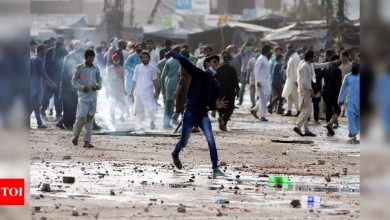 Pakistan orders temporary social media shutdown after violent protests - Times of India