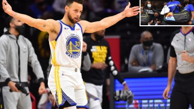Steph Curry rewards viral state trooper after 3-point spectacle
