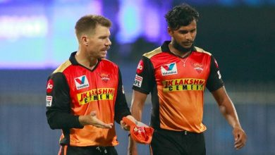 IPL 2021: Sunrisers Hyderabad pacer T Natarajan ruled out of tournament due to knee injury - Firstcricket News, Firstpost