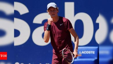 Teenager Sinner beats Rublev to reach Barcelona Open last four   Tennis News - Times of India