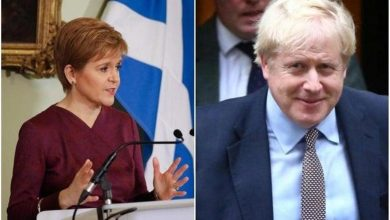 """The """"stench of sleaze"""" around the UK government is """"quite overpowering"""", Nicola Sturgeon has said"""
