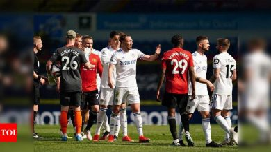 EPL: Manchester United held to goalless draw at Leeds | Football News - Times of India