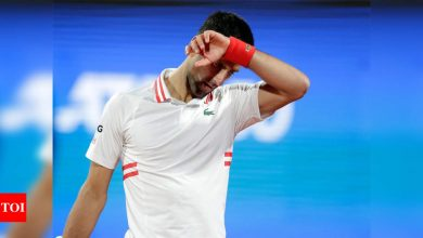 Novak Djokovic withdraws from Madrid Open | Tennis News - Times of India