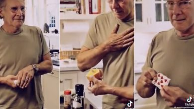 Harrison Ford's 'GTFO' magic trick resurfaces after Oscars cameo