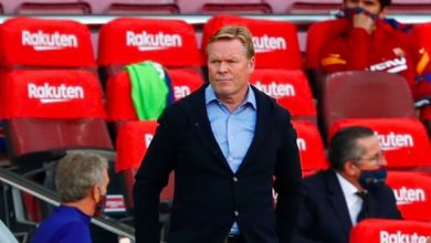 LaLiga: Barcelona boss Ronald Koeman to miss crucial games after two-match ban for referee 'disrespect'