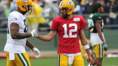 Aaron Rodgers' Packers drama has Marcedes Lewis sad: 'Miss you bro'