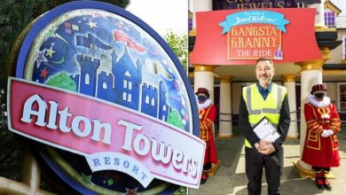 Alton Towers new Gangsta Granny ride opened by David Walliams: 'It's pretty mind-blowing'
