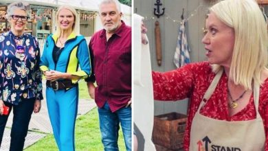 Anneka Rice tricks Paul Hollywood on Bake Off after major mishap 'I didn't get the memo'