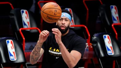 Anthony Davis clear for big step as Lakers return nears: 'Good news'