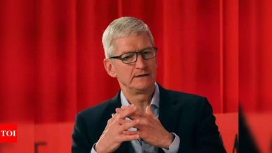 Apple CEO Tim Cook says he never met Elon Musk but admires him 'greatly' - Times of India